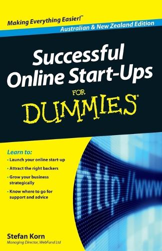 Successful Online Start-Ups For Dummies (Paperback)