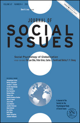 Social Psychology of Globalization - Journal of Social Issues (JOSI) (Paperback)