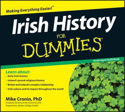 Irish History for Dummies Audiobook (CD-Audio)