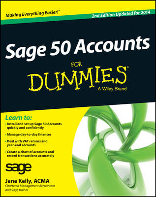 Sage 50 Accounts For Dummies 2014 (Paperback)