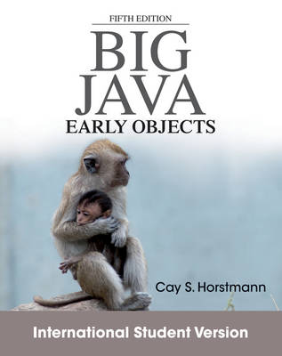 Big Java: Early Objects (Paperback)