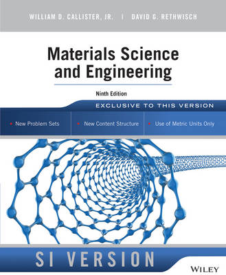 Materials Science and Engineering (Paperback)