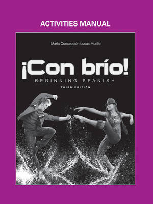 !Con brio!: Beginning Spanish, Activities Manual (Paperback)