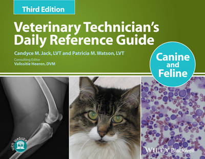 Veterinary Technician's Daily Reference Guide: Canine and Feline (Paperback)