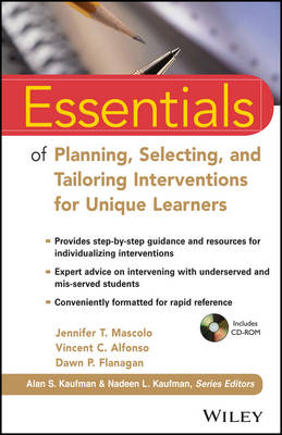 Essentials of Planning, Selecting, and Tailoring Interventions for Unique Learners - Essentials of Psychological Assessment (Paperback)
