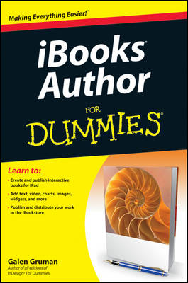 iBooks Author For Dummies (Paperback)