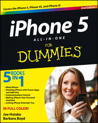 IPhone 5 All-in-One For Dummies (Paperback)