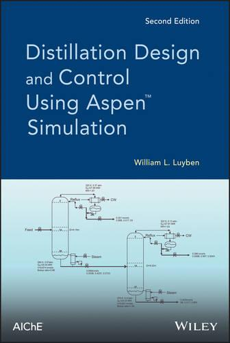 Distillation Design and Control Using Aspen Simulation (Hardback)