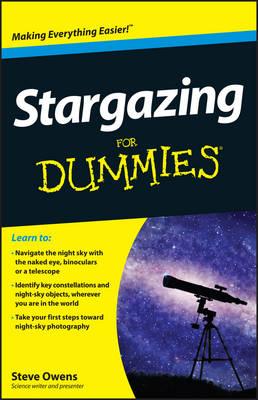 Stargazing For Dummies (Paperback)