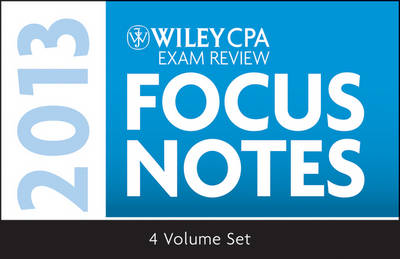 Wiley CPA Examination Review 2013 Focus Notes (Paperback)