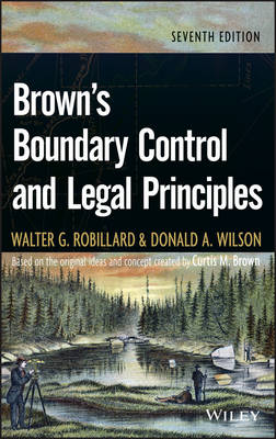 Brown's Boundary Control and Legal Principles (Hardback)
