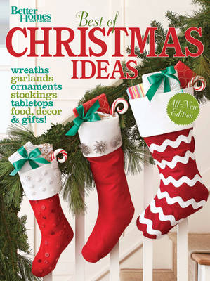 Best of Christmas Ideas, Second Edition: Better Homes and Gardens (Paperback)