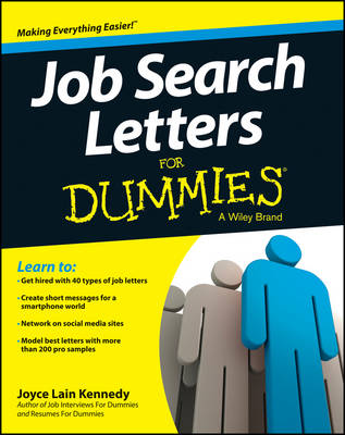 Job Search Letters For Dummies (Paperback)