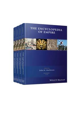The Encyclopedia of Empire: 4 Volume Set (Hardback)