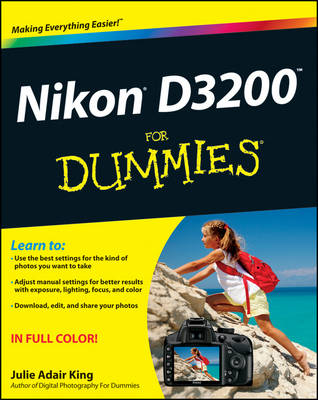 Nikon D3200 For Dummies (Paperback)