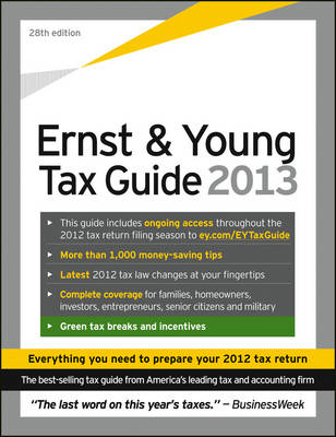 Ernst & Young Tax Guide 2013 (Paperback)