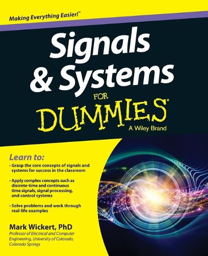 Signals and Systems For Dummies (Paperback)