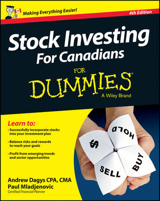 Stock Investing For Canadians For Dummies (Paperback)
