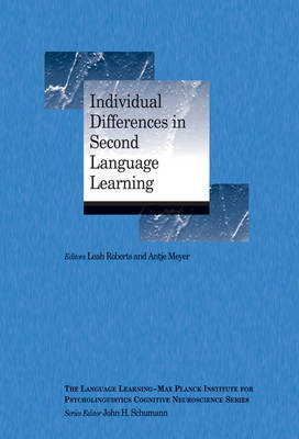Cover Individual Differences in Second Language Learning - Language Learning Cognitive Neuroscience Series