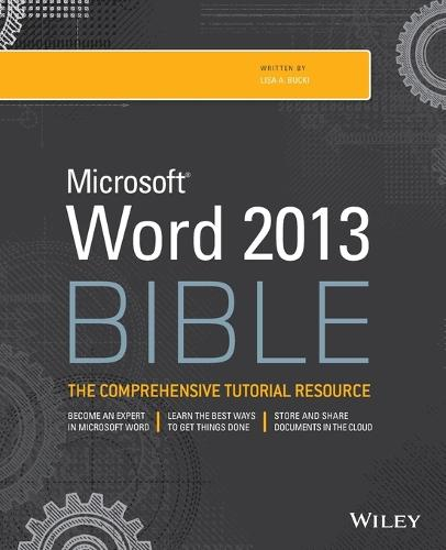 Word 2013 Bible - Bible (Paperback)