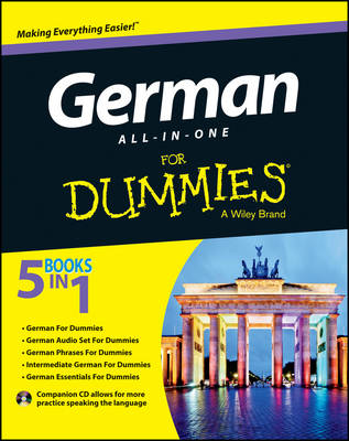 German All-in-One For Dummies: with CD (Paperback)