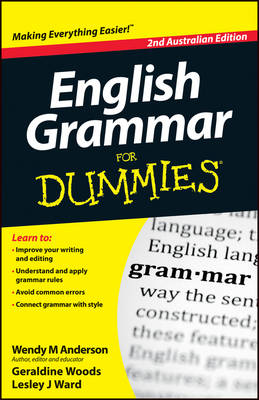 English Grammar For Dummies (Paperback)