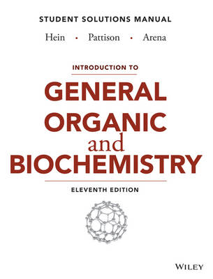 Cover Introduction to General, Organic, and Biochemistry Student Solutions Manual