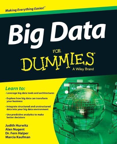 Big Data For Dummies (Paperback)