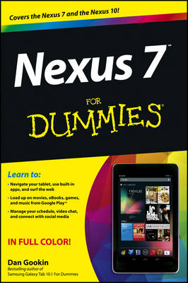 Nexus 7 For Dummies (Google Tablet) (Paperback)