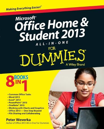 Microsoft Office Home and Student Edition 2013 All-in-One For Dummies (Paperback)