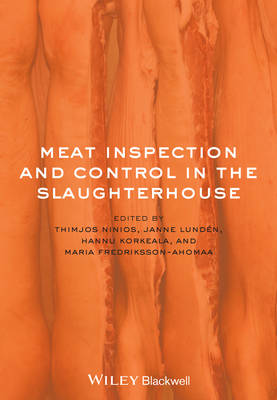 Meat Inspection and Control in the Slaughterhouse (Hardback)