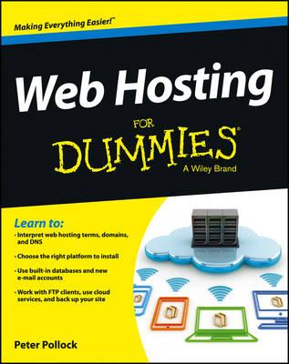 Web Hosting For Dummies (Paperback)