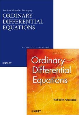 Ordinary Differential Equations Set (Hardback)