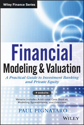 Financial Modeling and Valuation + Website: A Practical Guide to Investment Banking and Private Equity - Wiley Finance (Hardback)
