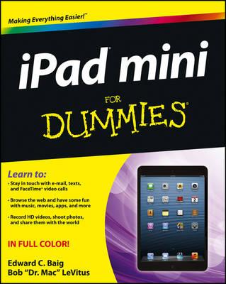 iPad Mini For Dummies (Paperback)