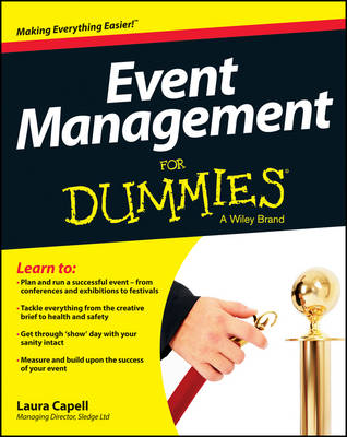 Event Management For Dummies (Paperback)