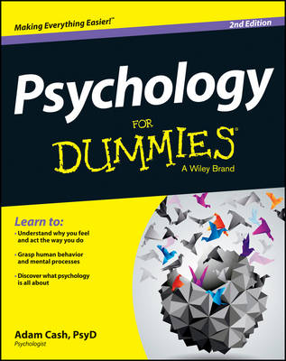 Psychology for Dummies, 2nd Edition (Paperback)