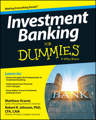 Investment Banking For Dummies (Paperback)
