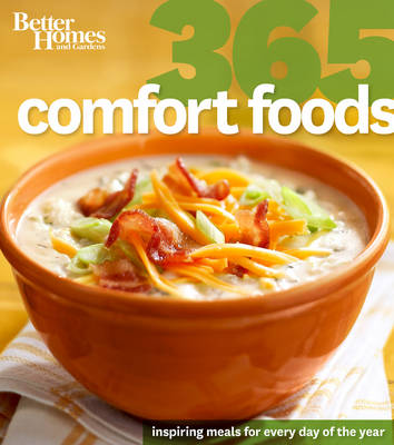 Better Homes and Gardens 365 Comfort Foods (Paperback)
