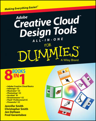 Adobe Creative Cloud Design Tools All-in-One For Dummies (Paperback)