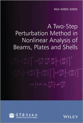 A Two-Step Perturbation Method in Nonlinear Analysis of Beams, Plates and Shells (Hardback)