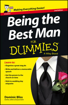 Being the Best Man For Dummies (Paperback)