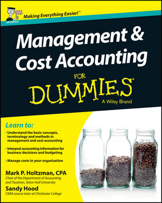 Management and Cost Accounting For Dummies (Paperback)