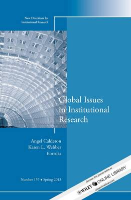 Global Issues in Institutional Research: New Directions for Institutional Research, Number 157 - J-B IR Single Issue Institutional Research (Paperback)