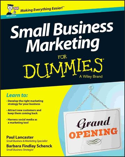 Small Business Marketing for Dummies (Paperback)