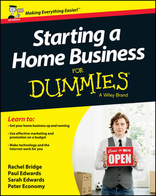 Starting a Home Business for Dummies (Paperback)