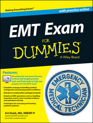 EMT Exam For Dummies with Online Practice (Paperback)