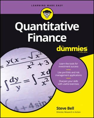 Quantitative Finance For Dummies (Paperback)