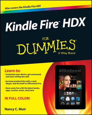 Kindle Fire HDX For Dummies (Paperback)