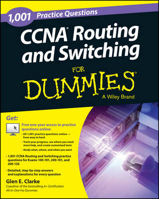 1,001 CCNA Routing and Switching Practice Questions For Dummies (Paperback)